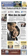 Indianapolis Star A1 on May 27, 2009