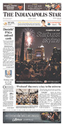 Indianapolis Star A1 on July 5, 2012